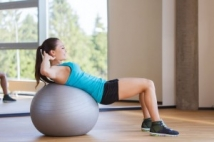 The benefits of exercising with a stability ball
