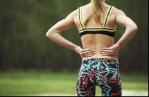Years of activity can strain an athlete's back